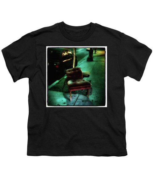Youth T-Shirt featuring the photograph Welcome To My Living Room, Pull Up A by Mr Photojimsf