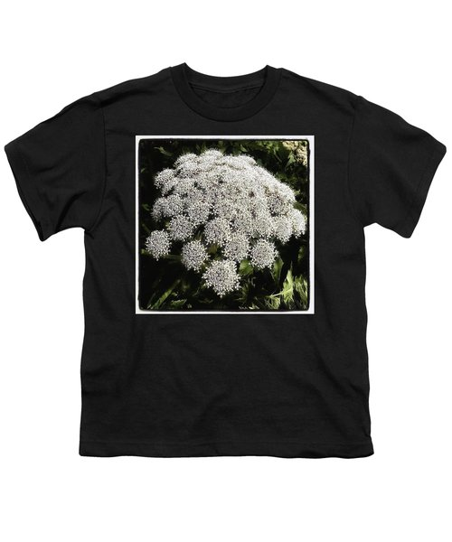 Youth T-Shirt featuring the photograph What Flower Is This? I Think It's by Mr Photojimsf