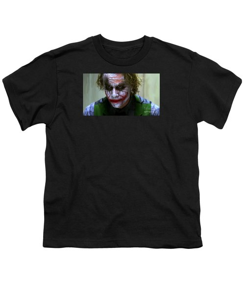 Why So Serious Youth T-Shirt by Paul Tagliamonte