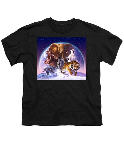 Wild World Youth T-Shirt by Jerry LoFaro