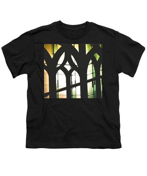 Windows Youth T-Shirt by Melissa Godbout