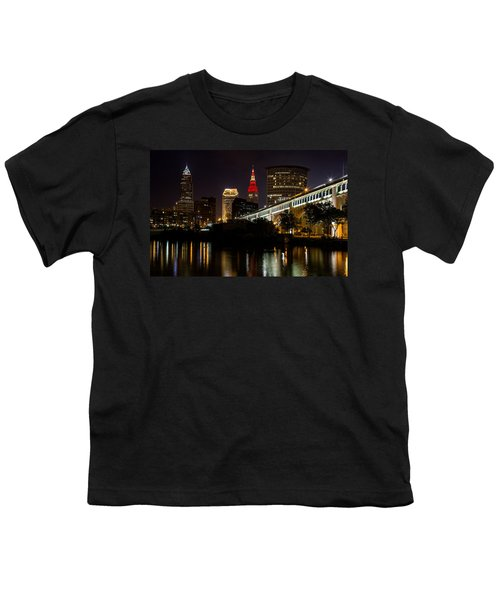 Wine And Gold In Cleveland Youth T-Shirt