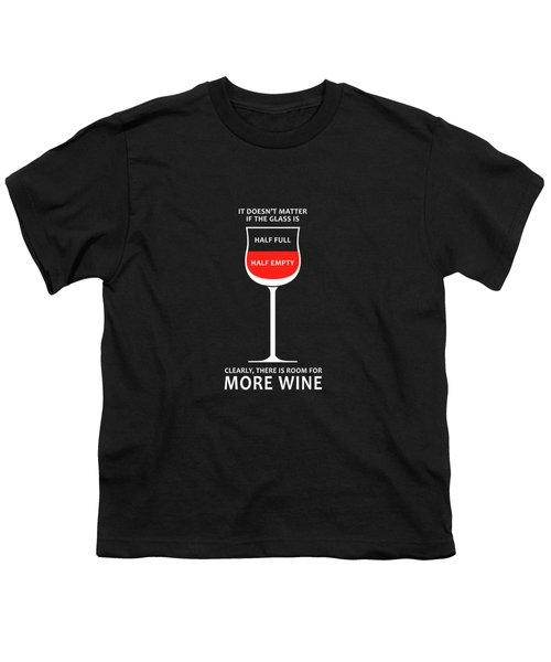 Wine Glasses 1 Youth T-Shirt