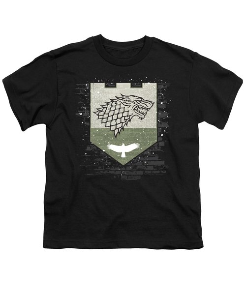 Winter Is Here Stark Banner Youth T-Shirt
