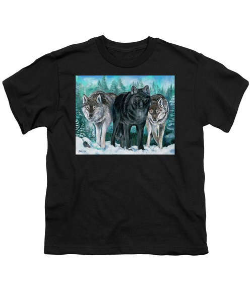 Winter Wolves Youth T-Shirt