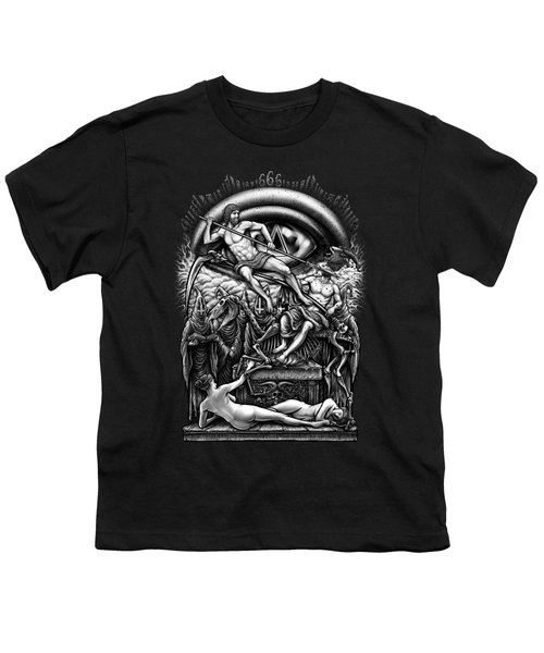 Winya No. 40 Youth T-Shirt by Winya Sangsorn
