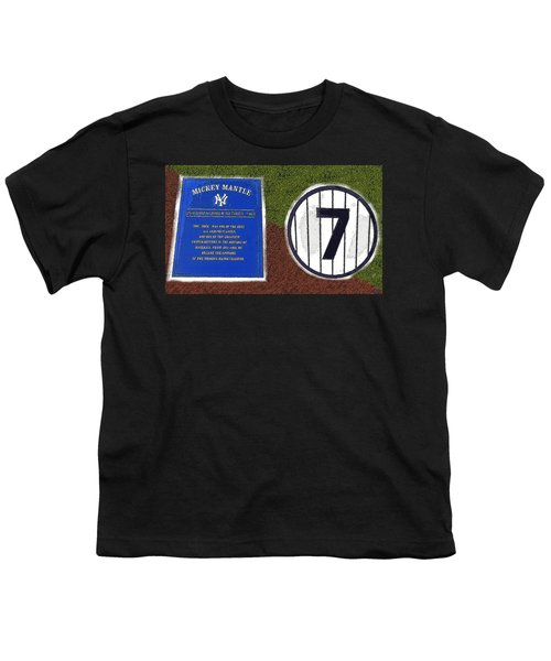 Yankee Legends Number 7 Youth T-Shirt