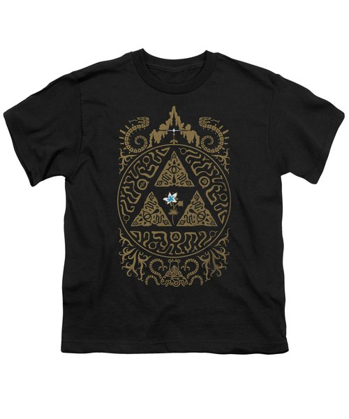 Zelda And Silent Princess Youth T-Shirt