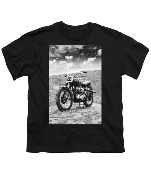 502 Mcqueen Desert Sled Youth T-Shirt