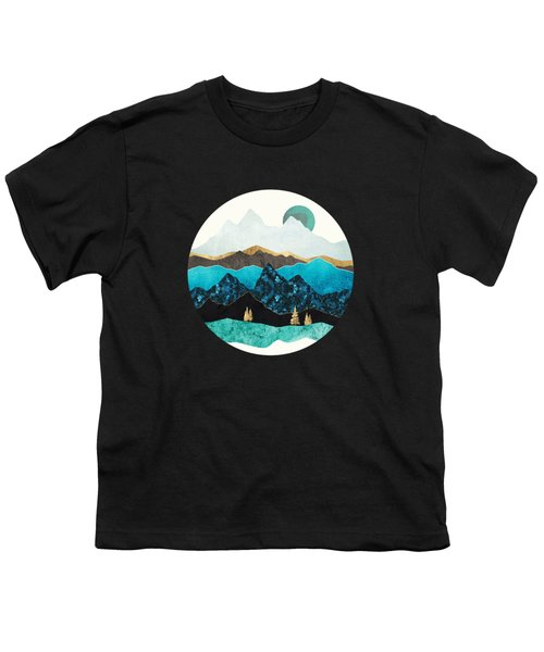 Teal Afternoon Youth T-Shirt