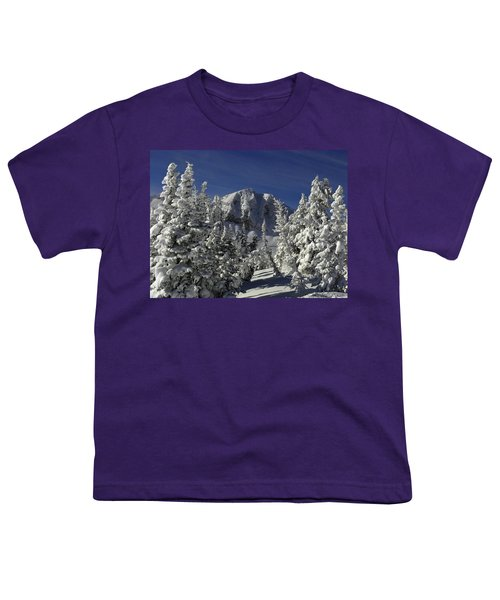 Cody Peak After A Snow Youth T-Shirt