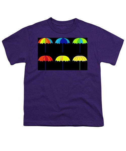 Umbrella Ella Ella Ella Youth T-Shirt by Florian Rodarte