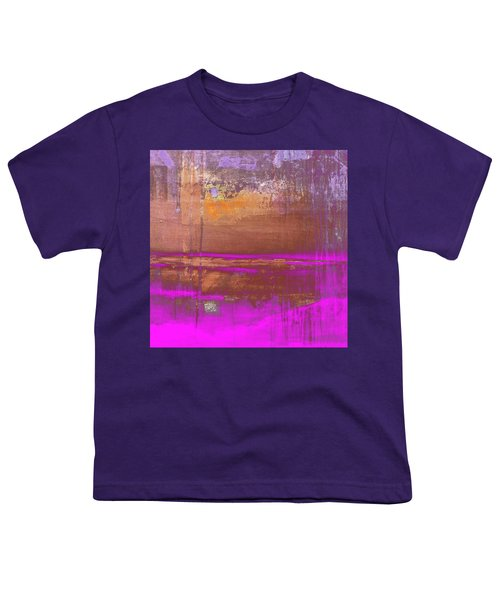 Youth T-Shirt featuring the digital art Color Patches by Mihaela Stancu