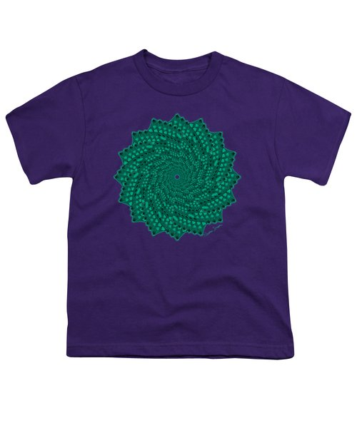Alligator-dragon Tail Youth T-Shirt by Heather Schaefer