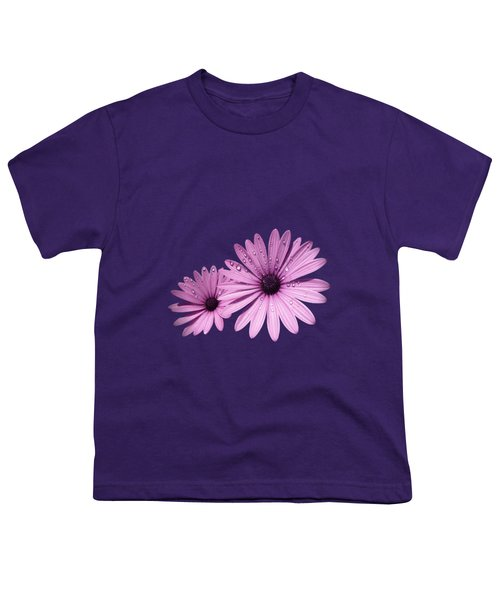 Dew Drops On Daisies Youth T-Shirt