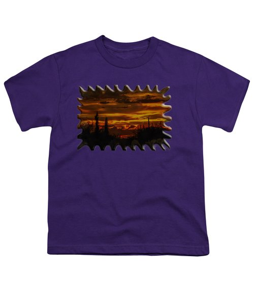 Sunset No.16 Youth T-Shirt by Mark Myhaver