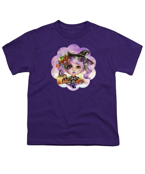 Halloween Hannah - Munchkinz Character  Youth T-Shirt