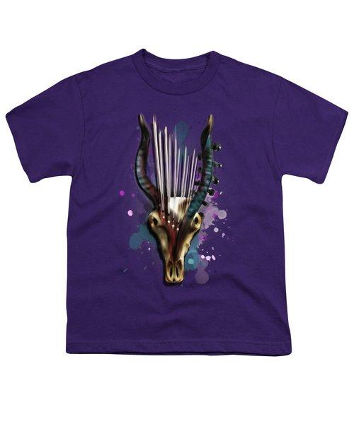 Capricorn Youth T-Shirt by Melanie D