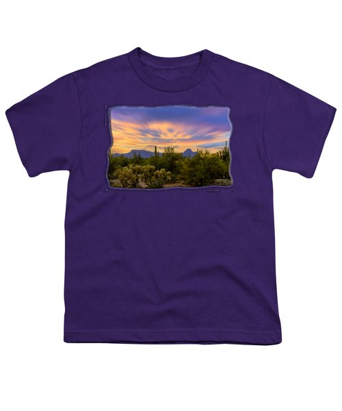 Easter Sunset H18 Youth T-Shirt by Mark Myhaver