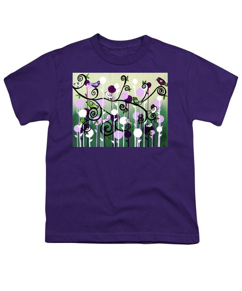 Family Tree Youth T-Shirt by Teresa Wing