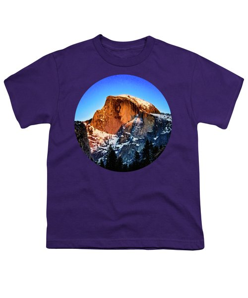 Half Dome Aglow Youth T-Shirt