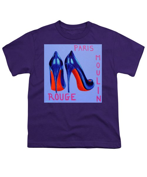 Irish Burlesque Shoes Youth T-Shirt