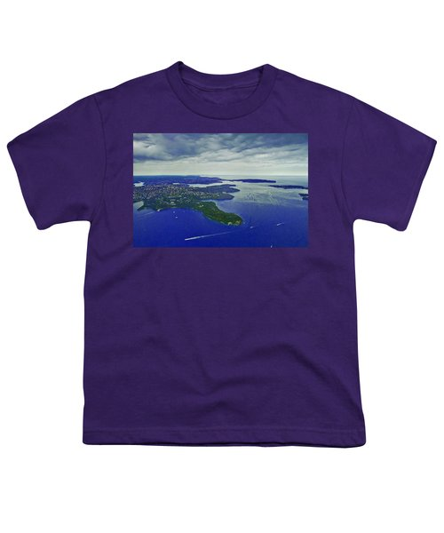 Middle Head And Sydney Harbour Youth T-Shirt