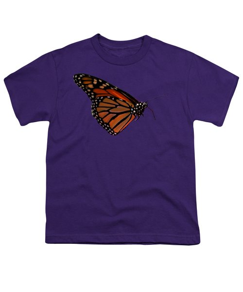 Monarch Butterfly No.41 Youth T-Shirt by Mark Myhaver
