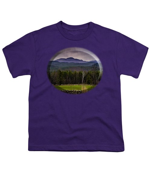 Youth T-Shirt featuring the photograph New England Spring In Oil by Mark Myhaver