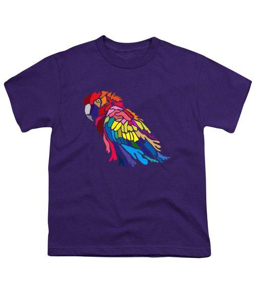 Parrot Beauty Youth T-Shirt by Anthony Mwangi