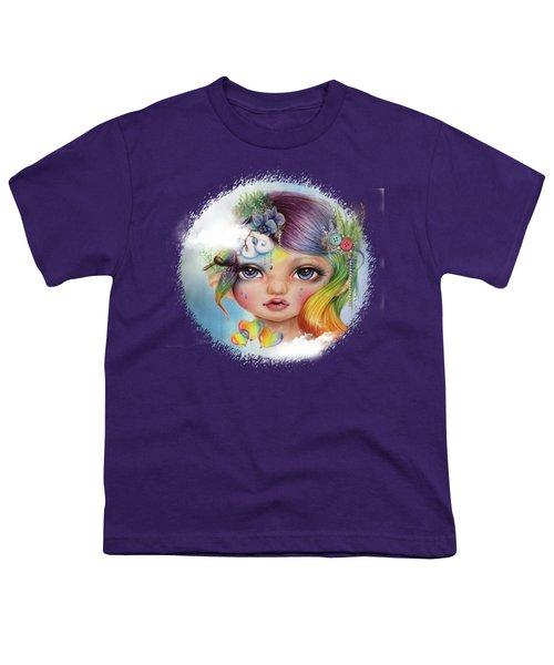 Rainbow Rosalie  Youth T-Shirt