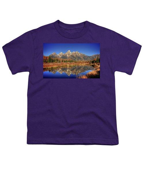 Schwabacher Landing Grand Teton National Park Youth T-Shirt