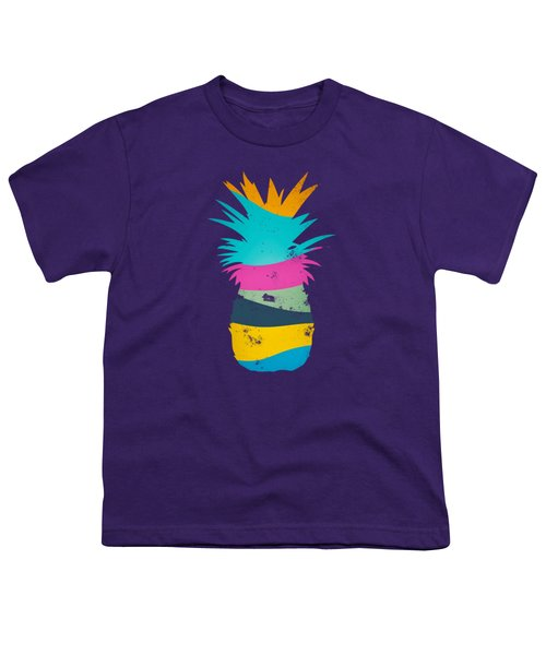 Sliced Ananas, Pineapple Youth T-Shirt