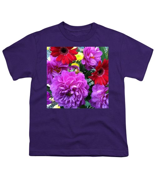 Some Fall Flowers For Inspiration! Youth T-Shirt by Jennifer Beaudet