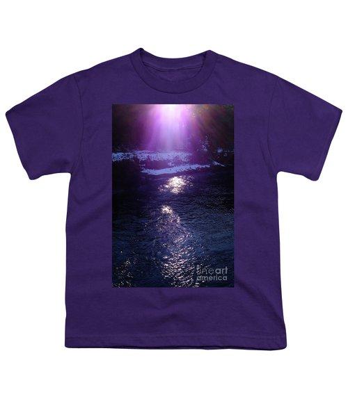 Spiritual Light Youth T-Shirt by Tatsuya Atarashi