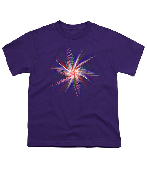 Star In Motion By Kaye Menner Youth T-Shirt by Kaye Menner