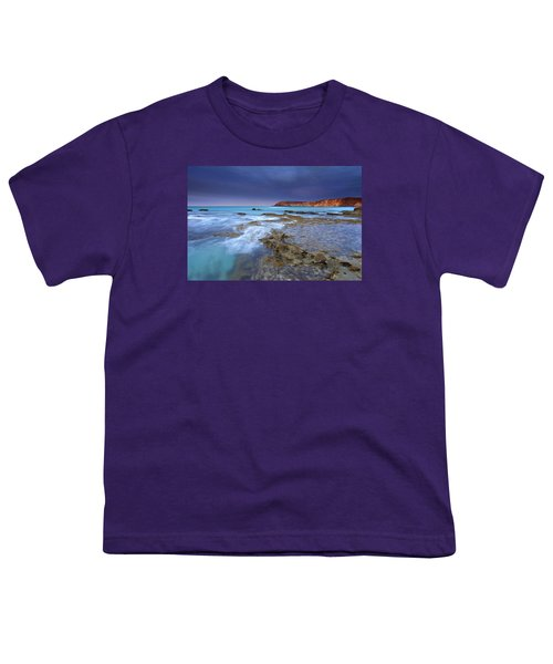 Storm Light Youth T-Shirt by Mike  Dawson