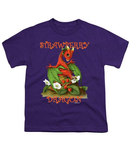 Strawberry Dragon Youth T-Shirt