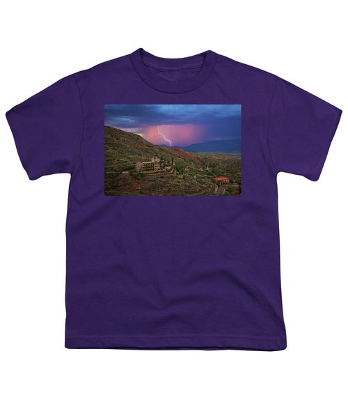 Sycamore Canyon Lightning With Little Daisy Youth T-Shirt