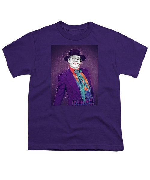 The Joker Youth T-Shirt by Taylan Apukovska