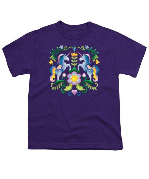 The Royal Society Of Cute Unicorns Youth T-Shirt