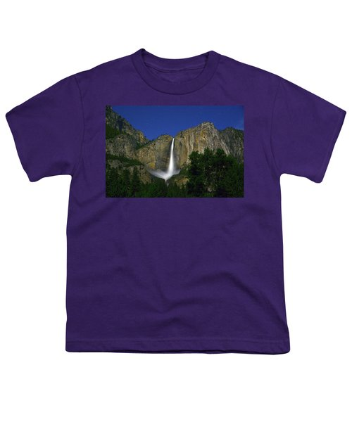 Upper Yosemite Falls Under The Stairs Youth T-Shirt