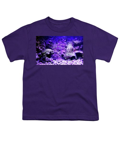 Youth T-Shirt featuring the photograph Uw Coral Stone 2 by Francesca Mackenney