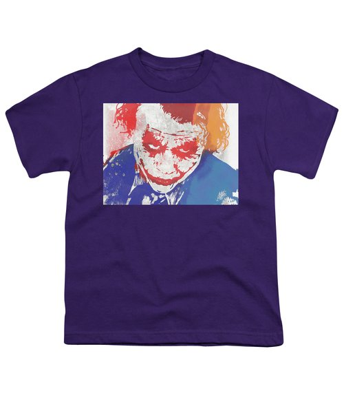 Why So Serious Youth T-Shirt by Dan Sproul