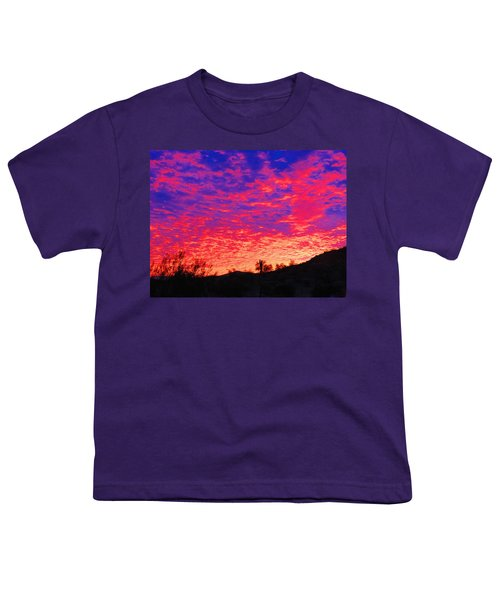 Y Cactus Sunset 1 Youth T-Shirt