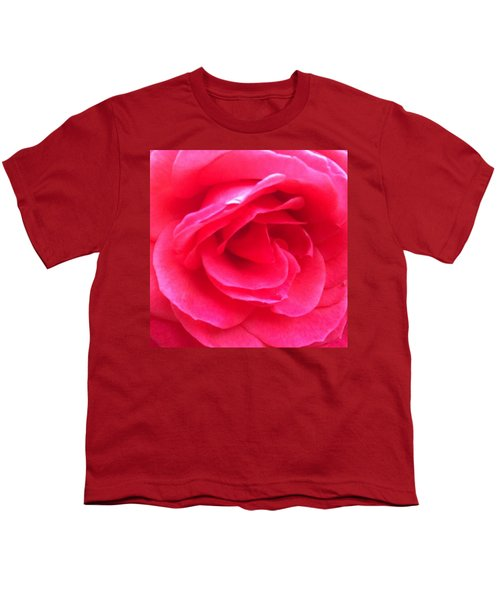 Love In Full Bloom - Anniversary Rose Youth T-Shirt