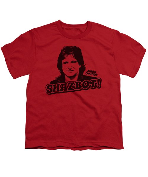 Mork And Mindy - Shazbot Youth T-Shirt
