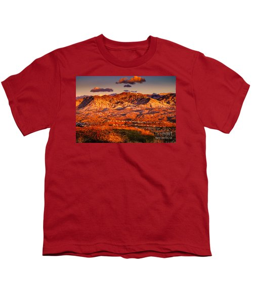 Youth T-Shirt featuring the photograph Red Planet by Mark Myhaver