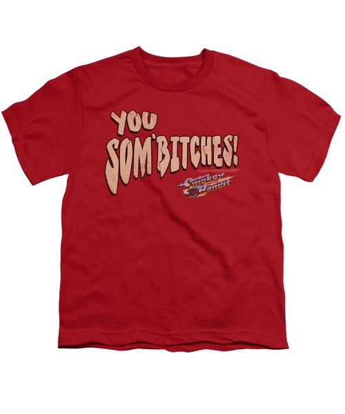 Smokey And The Bandit - Sombitch Youth T-Shirt