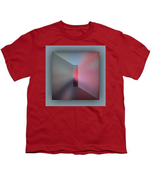 Youth T-Shirt featuring the digital art The Focus by Mihaela Stancu